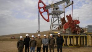 In Kazakhstan, introducing new technology to increase oil recovery wells at the oilfield Kenlik